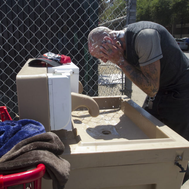 San Diego plans tents for homeless amid hepatitis A outbreak