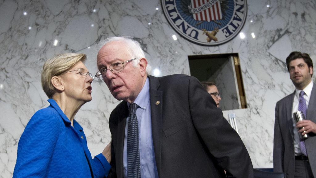 Bernie Sanders, Sen. Elizabeth Warren