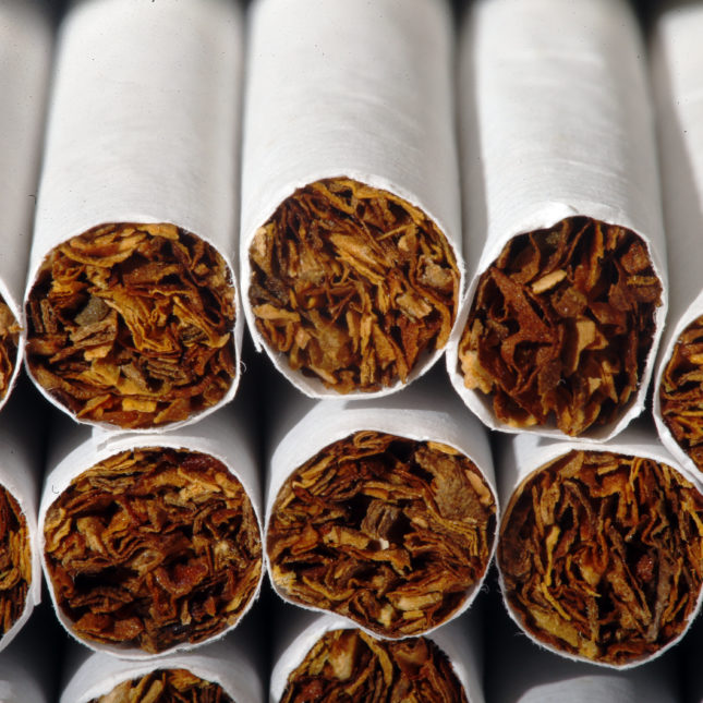 Smoking rates