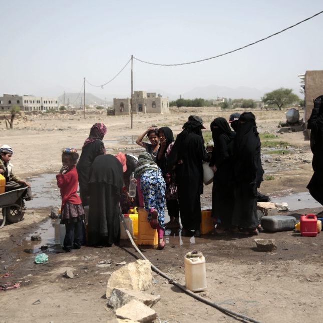 Yemen WHO Cholera