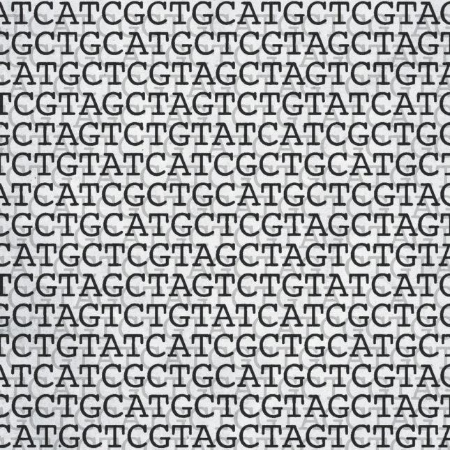 """CRISPR DNA Editing illustration"""