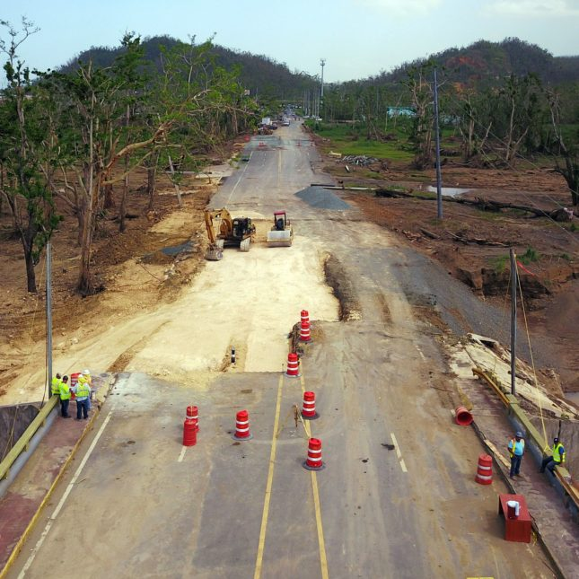 PUERTORICO-Hurricane recovery
