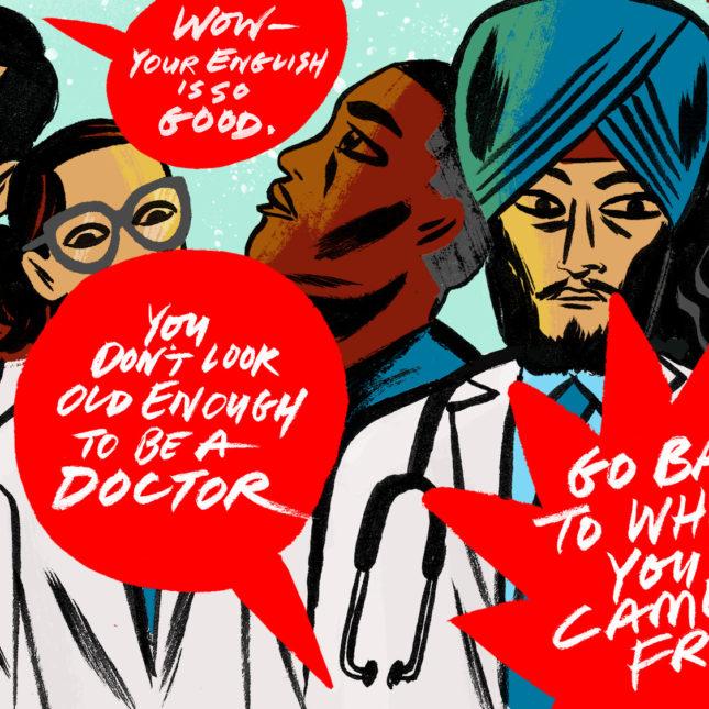 Doctor/patient survey - discrimination