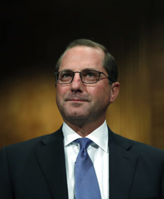 Trump Health Secretary - Azar