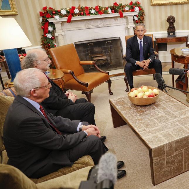 2016 American Nobel Prize winners - White House