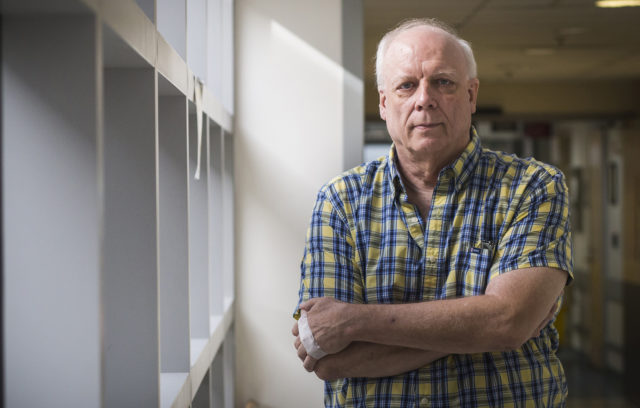Vietnam veteran Richard R. Gray has volunteered to be part of a genetic study at the U.S. Department of Veterans Affairs Medical Center in West Haven, Connecticut.