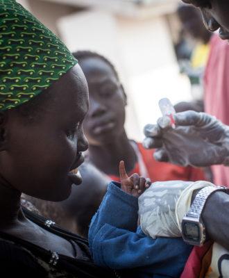 South Sudan Polio