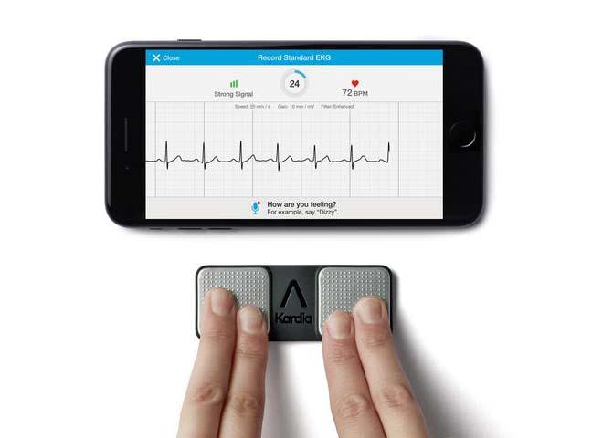 Kardia heart monitor