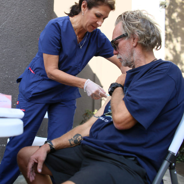 Hepatitis A vaccine - San Diego