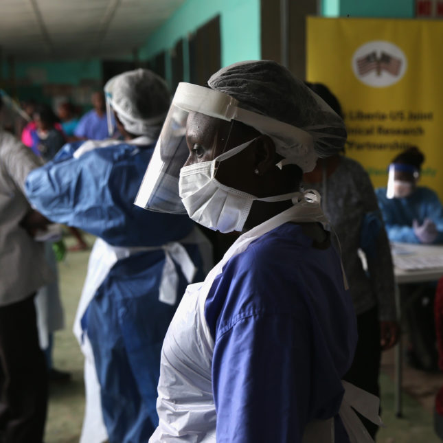 Ebola - for vaccine story
