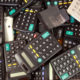 Pile of calculators