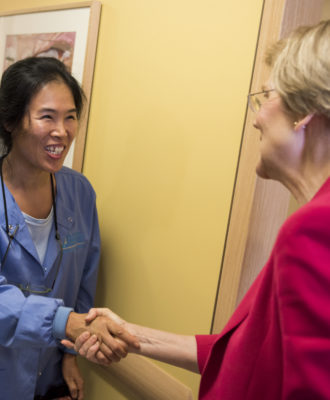 Elizabeth Warren - Community health center