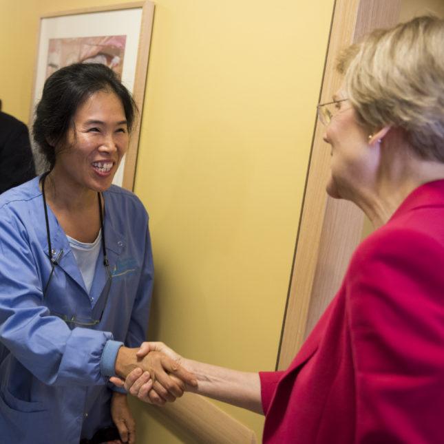Elizabeth Warren - Community health center
