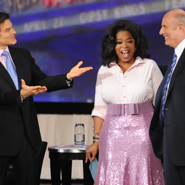 Mehmet Oz, Oprah Winfrey, Phil McGraw