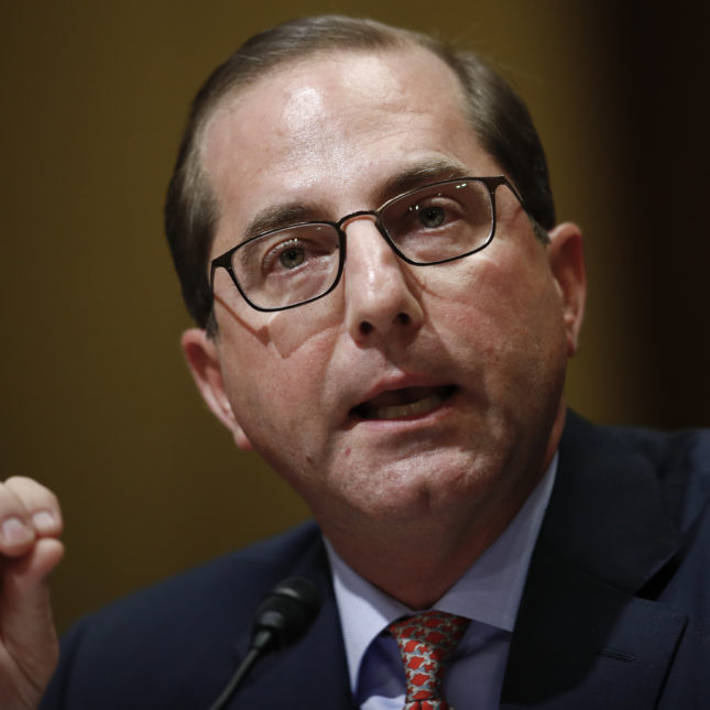 Alex Azar - Senate Finance Committee hearing