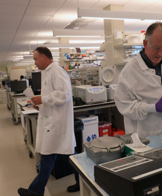 Vertex Pharmaceuticals lab