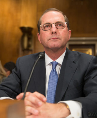 Alex Azar - for first opinion