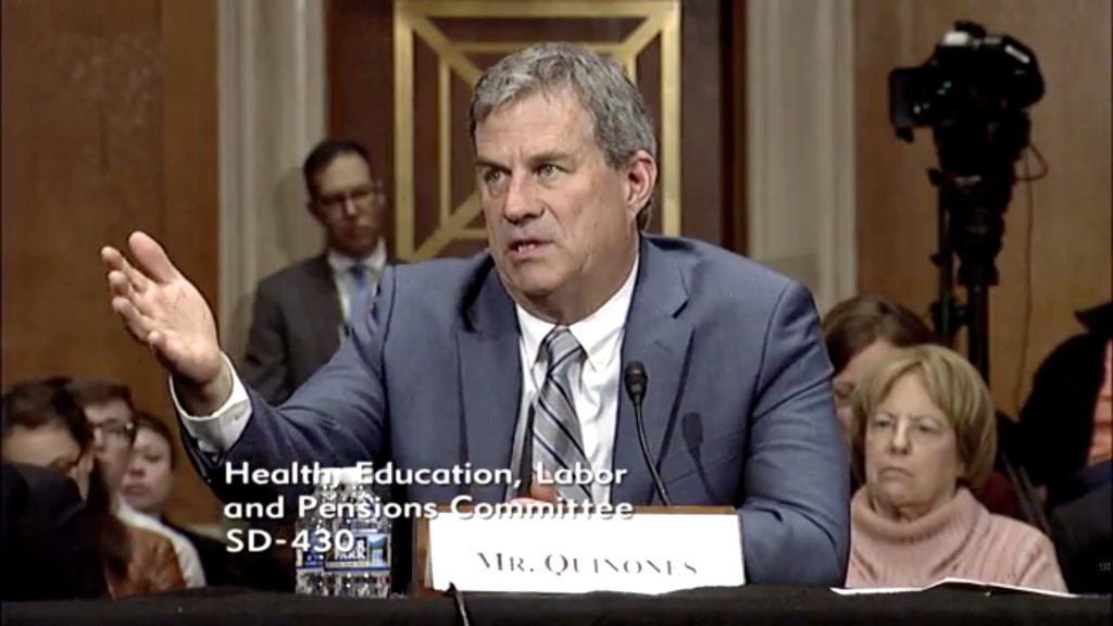 Senate health committee hosts opioid hearing with one witness: a journalist