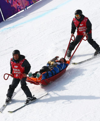 Winter Olympics medics