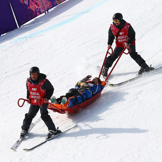 Winter Olympics medics