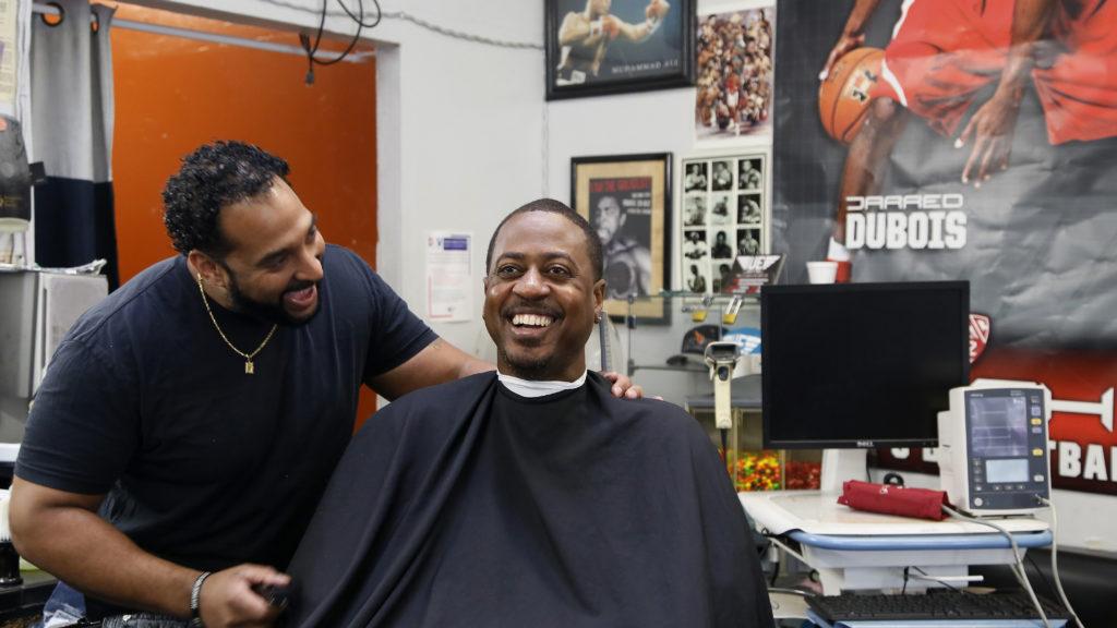STUDY  Barbershop trims black mens blood pressure