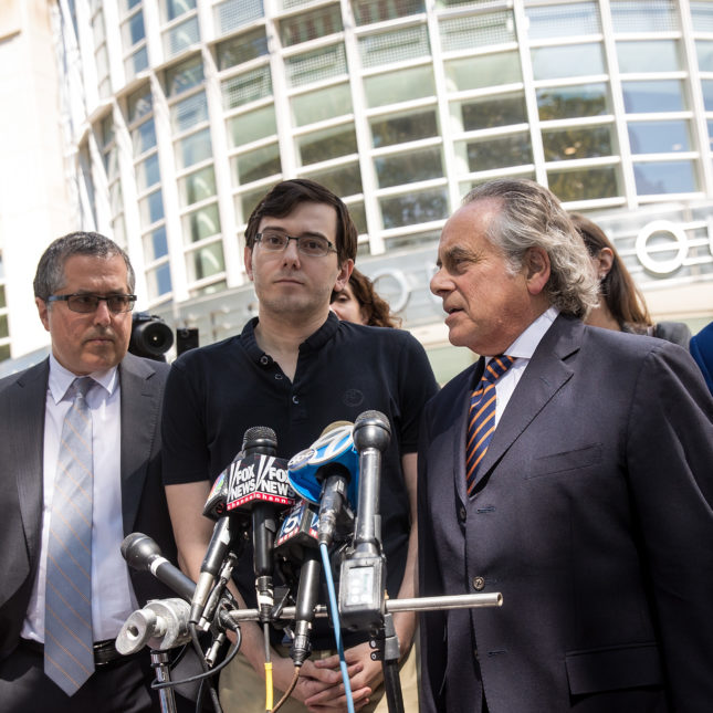 'Pharma Bro' Shkreli sentenced to seven years for defrauding investors