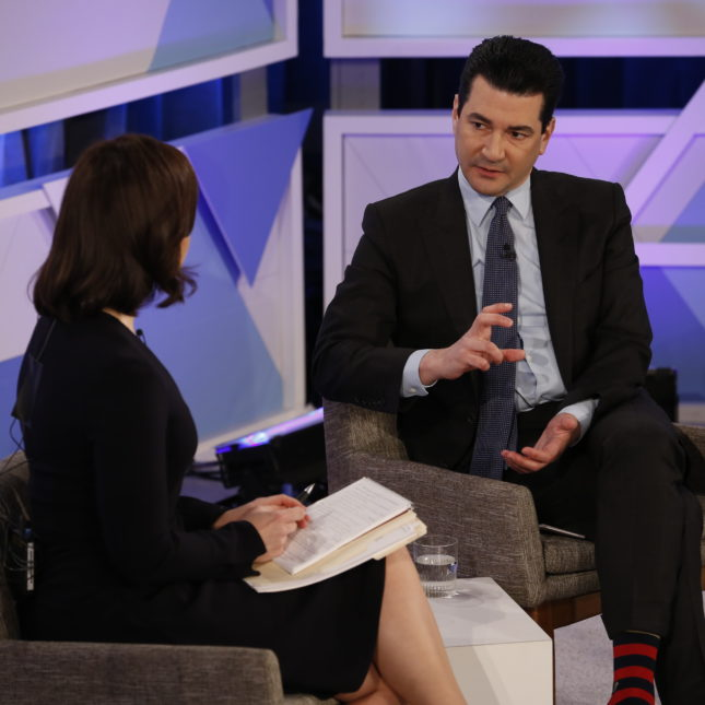 fda commissioner scott gottlieb is interviewed by cnbcs meg tirrell