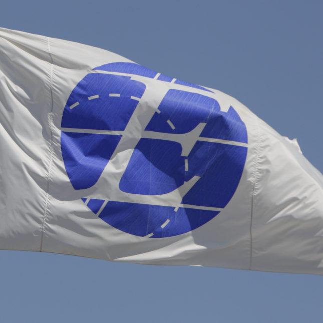 Express Scripts flag