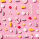 Broken pills concept