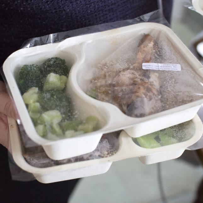 Community Servings frozen meals