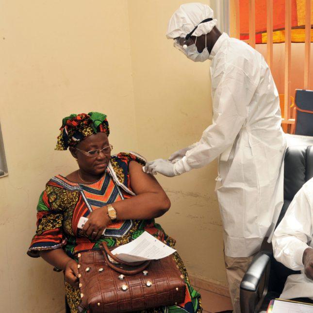 Ebola vaccine - Guinea