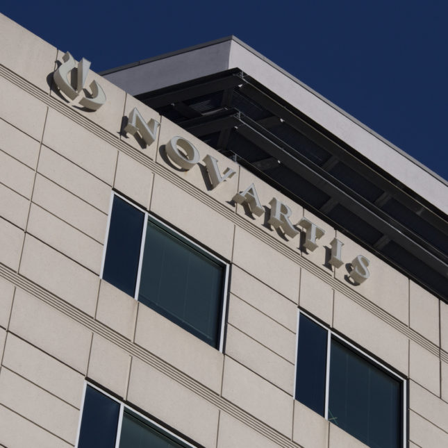 Novartis International pharmaceutical