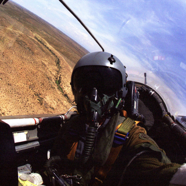 Fighter cockpit