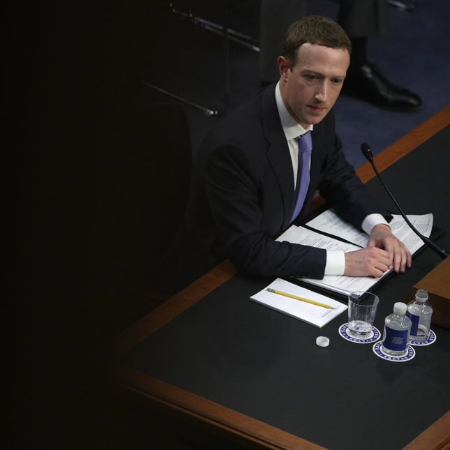 Mark Zuckerberg Testifies Hearing