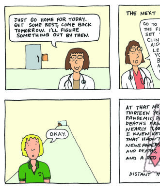 Medical Comic Strip