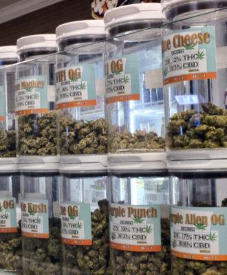 Medical Marijuana Display
