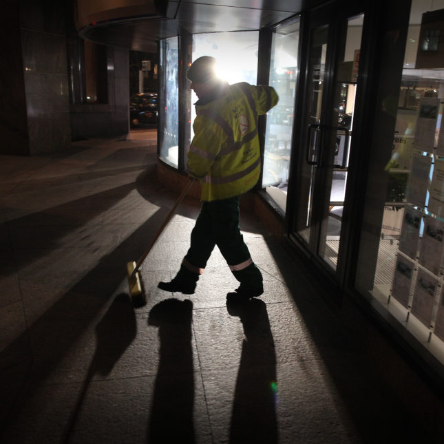 Night Workers On Shift