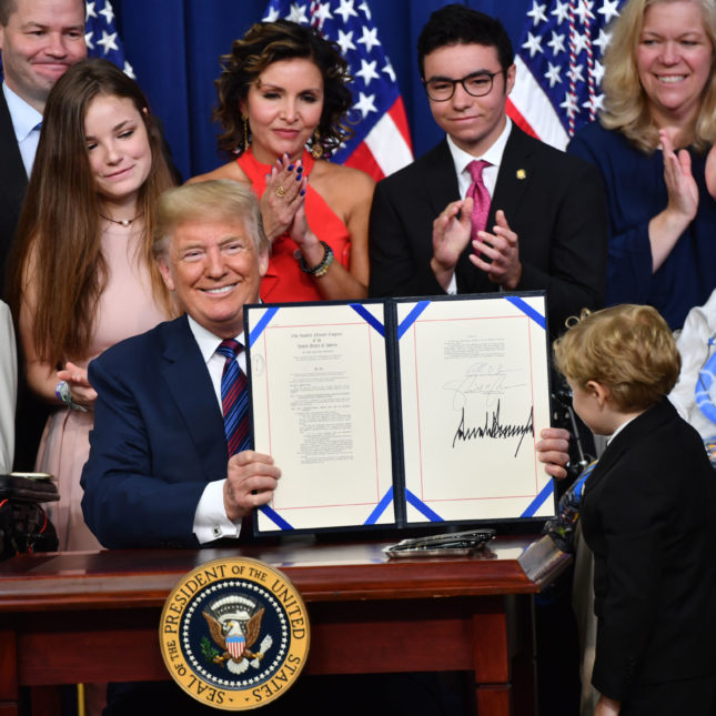 Trump Right To Try Act Signing