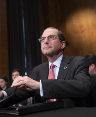 Alex Azar Senate Health Committee