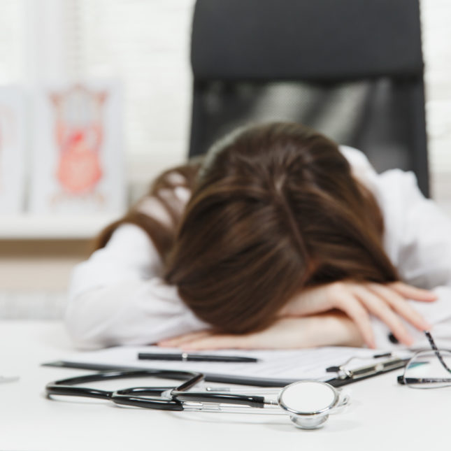 Tired Medical Student
