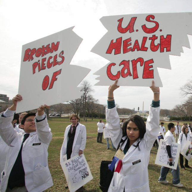 American Medical Student Protest