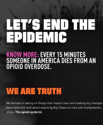 Truth Opioid Epidemic