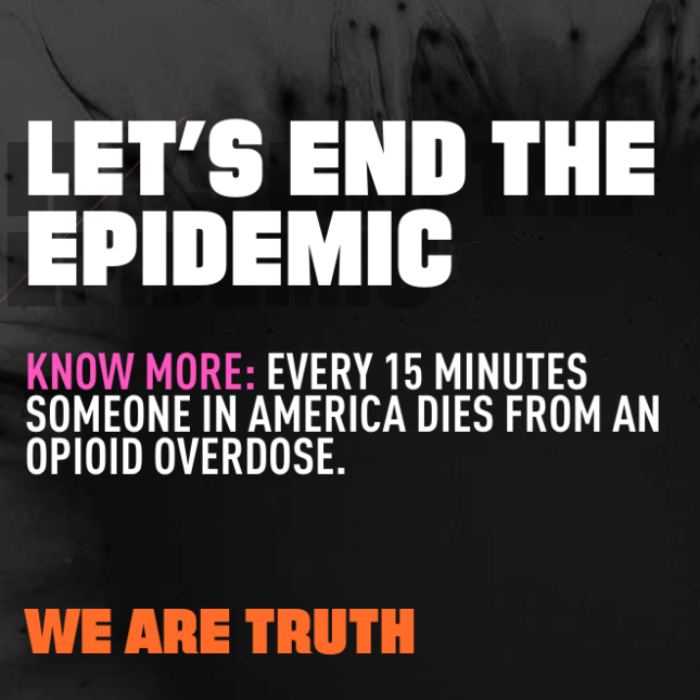 The U S Opioid Epidemic Council On Foreign Relations >> New Anti Opioids Campaign Rolled Out By The White House Aims To Shock
