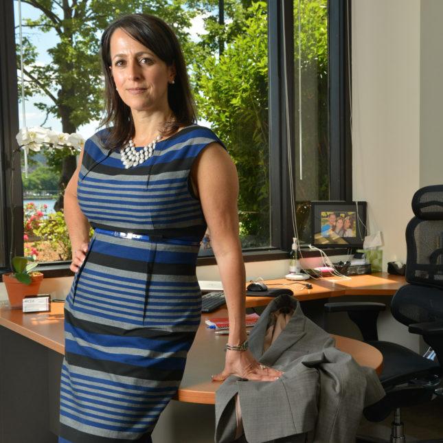 Paula Soteropoulos, CEO of Akcea Therapeutics.