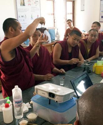 Tibetan Buddhist Monk Science