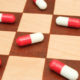 Pills on chessboard