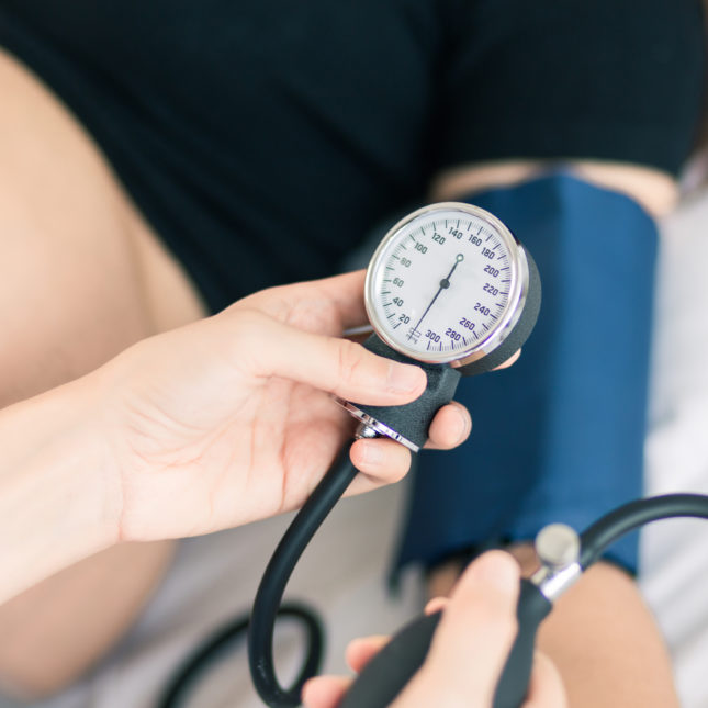 Pregnancy and blood pressure