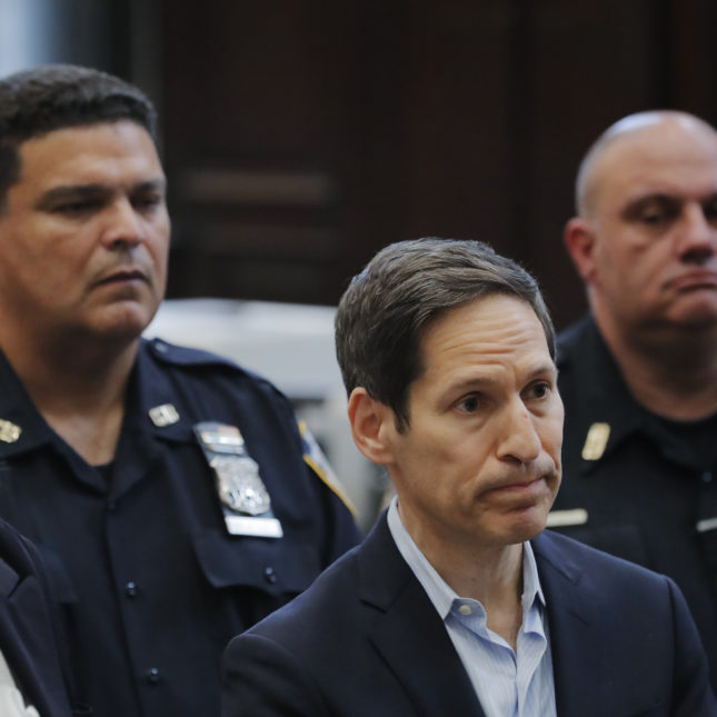 Dr. Thomas Frieden at his arraignment at Brooklyn Criminal Court on Friday.  Lucas Jackson-Pool/Getty Images