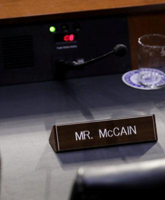 MCCain nameplate