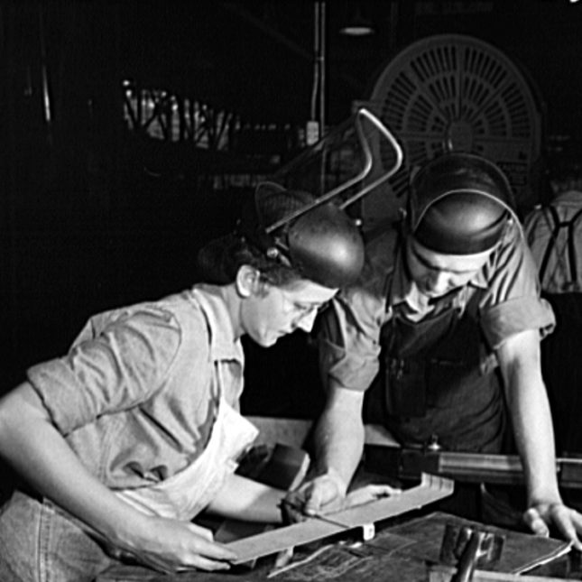 WWII Factory workers